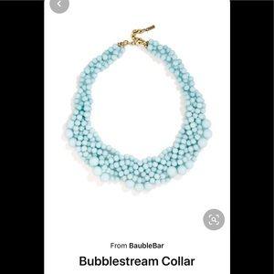 BaubleBar Bubblestream collar necklace- light blue